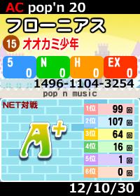 POPN-MUSIC-20-戦績