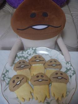 なめこクッキー