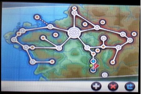カロス地方全図