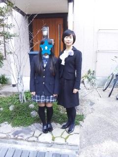 卒業式朝1