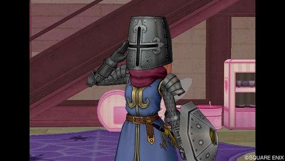 聖騎士敬礼