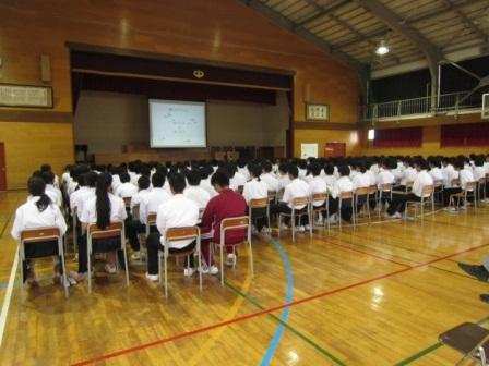上山中学校02