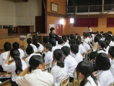 上山中学校05