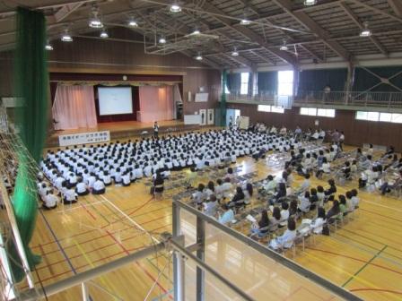 小針中学校講演会1