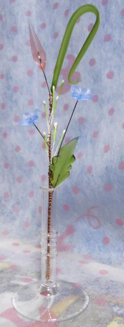 ガラス花 ●