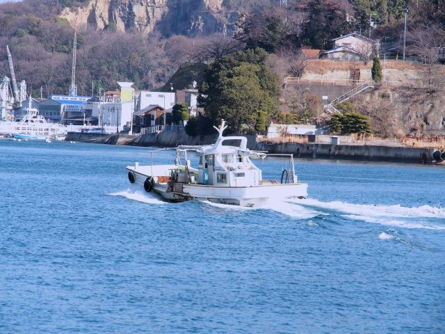 P1230022  海と船1G