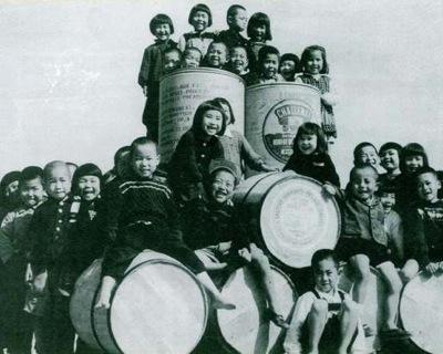 昭和の子供達の笑顔