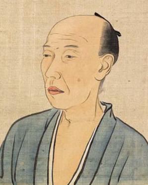 松崎慊堂 30代の頃 『近世名家肖像』より