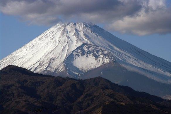 宝永の噴火跡