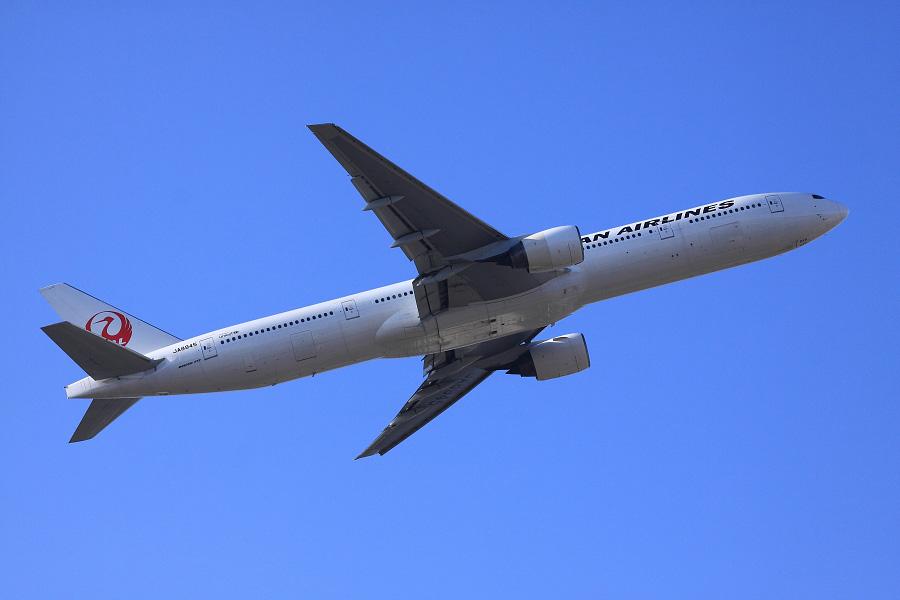 JAL B777-346 / JAL2081 (JA8945)@エアフロントオアシス沿道