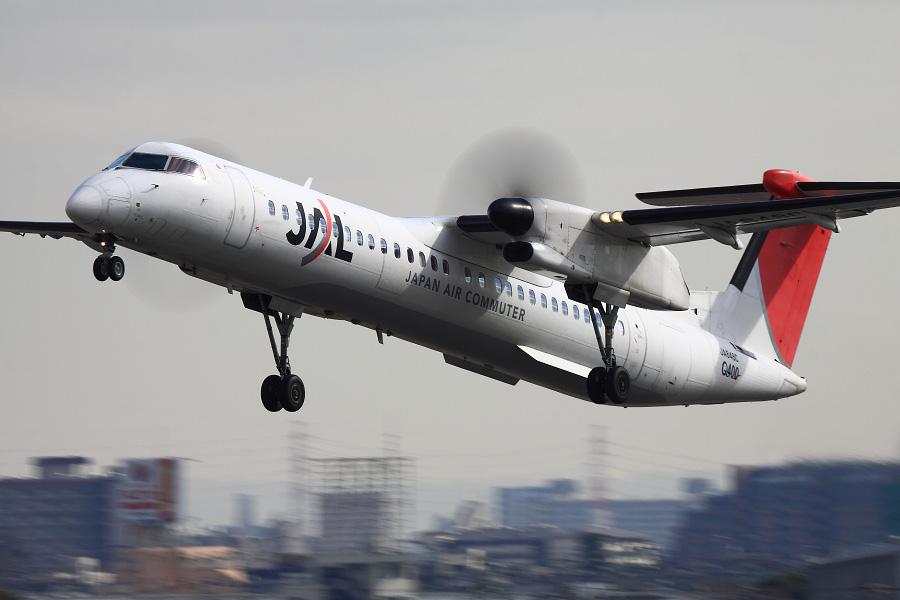 JAC DHC-8-402Q / JAC2407 (JA848C)@伊丹スカイパーク