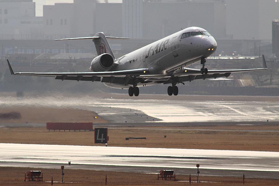 J-AIR CRJ-200ER JAL2173 (JA206J)@下河原緑地展望デッキ