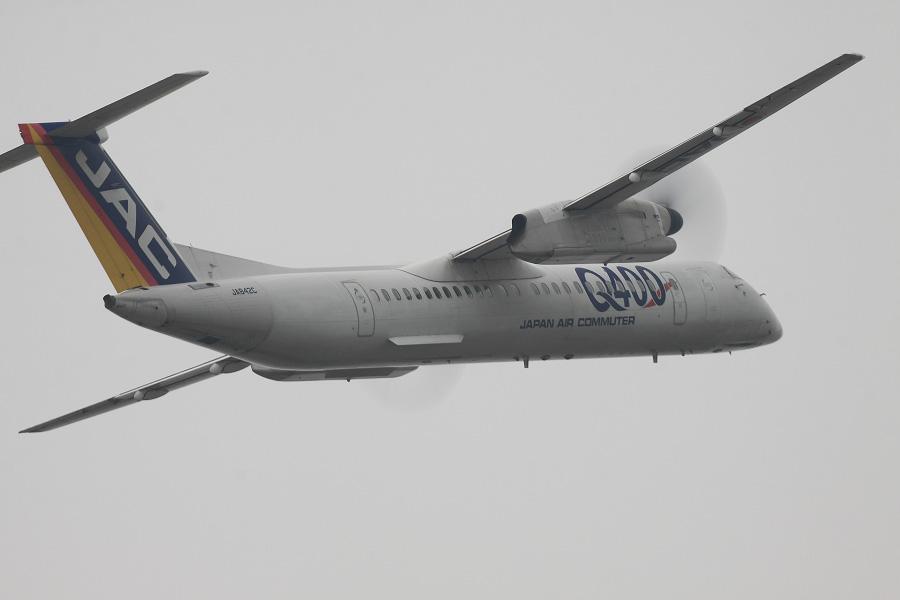 JAC DHC-8-402Q / JAC2407 (JA842C)@下河原緑地展望デッキ