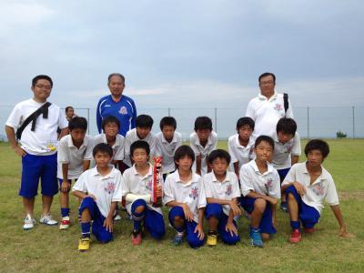 120812 志度カップ優勝(6年)
