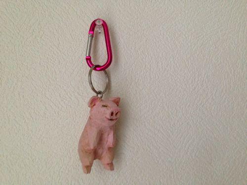 豚さんキーホルダー
