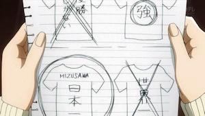 千早のTシャツ図案(笑)