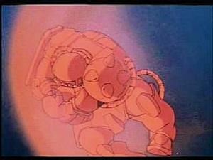 ザクには大気圏を突破する性能はない