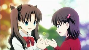 小さい頃の凛と桜