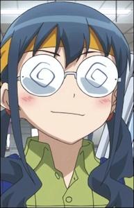 眼鏡の沙織