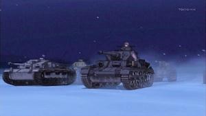 進撃の戦車