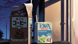 コーヒーとヨーグルッペ
