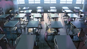 誰もいない教室