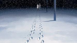 二人の足跡