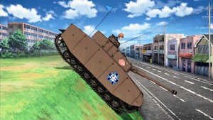 エンジン部を狙うⅣ号戦車