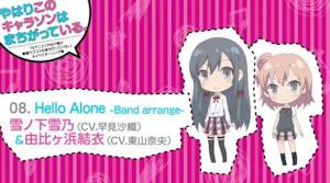 Hello Alone Band arrange