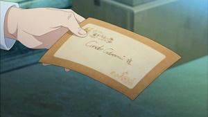 まひるからの手紙を和奏に渡す