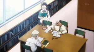 三人で勉強会