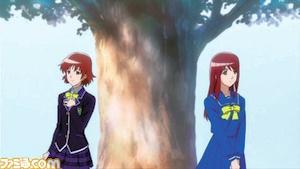 ダブルヒロインの星川真希(左)と皐月優(右)