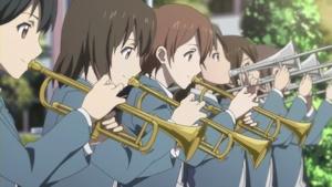 最終回より 吹奏楽部の支援