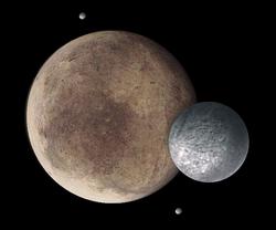 冥王星と衛星