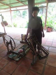 ライさん糸車