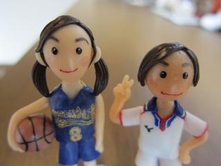 バスケサッカー姉弟2