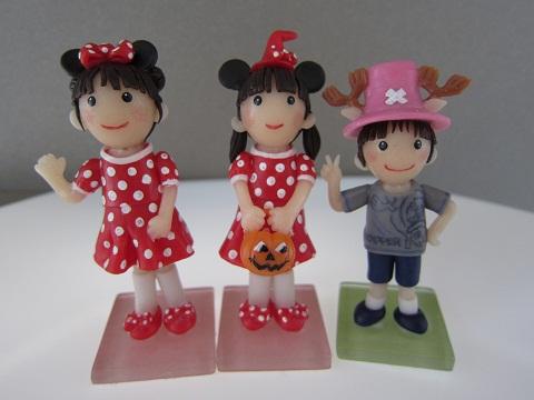 姉弟人形。2