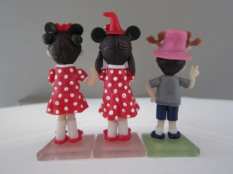 姉弟人形。3