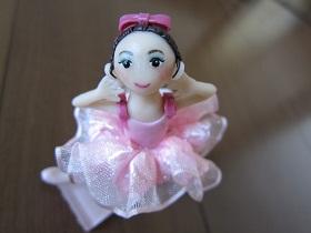 バレエ人形ピンク3
