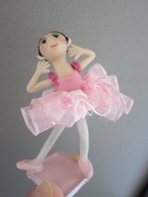 バレエ人形ピンク4