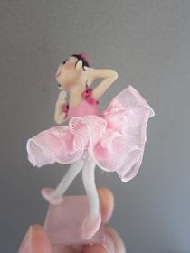 バレエ人形ピンク5