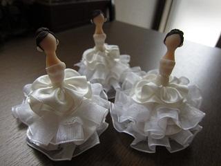 白ドレス×3製作中