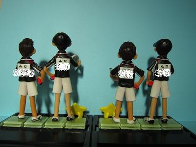 テニスペア人形6