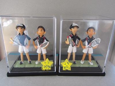 テニスペア人形7
