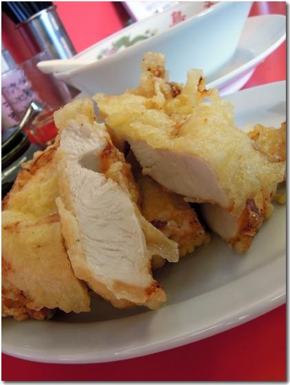 鶏の天ぷら拡大