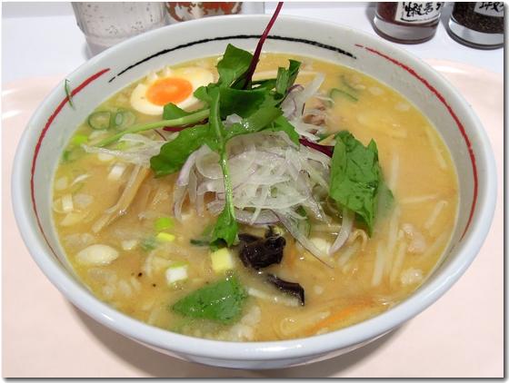 菜麗白極拉麺