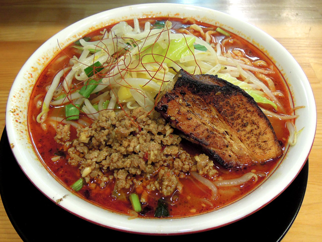 肉もり麻辣麺