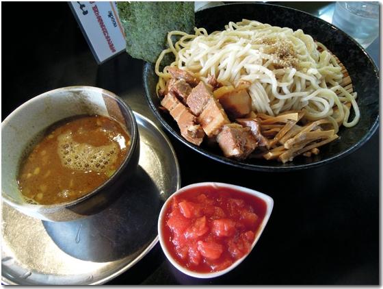 トマポテカレーつけ麺
