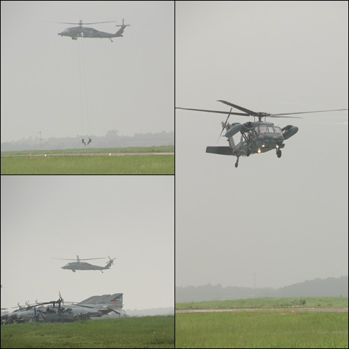 航空祭ヘリ