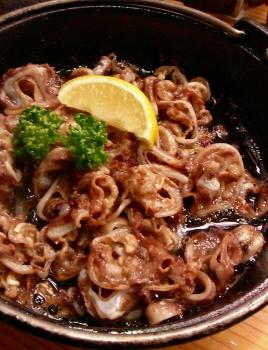 ナンコツ鉄鍋焼き